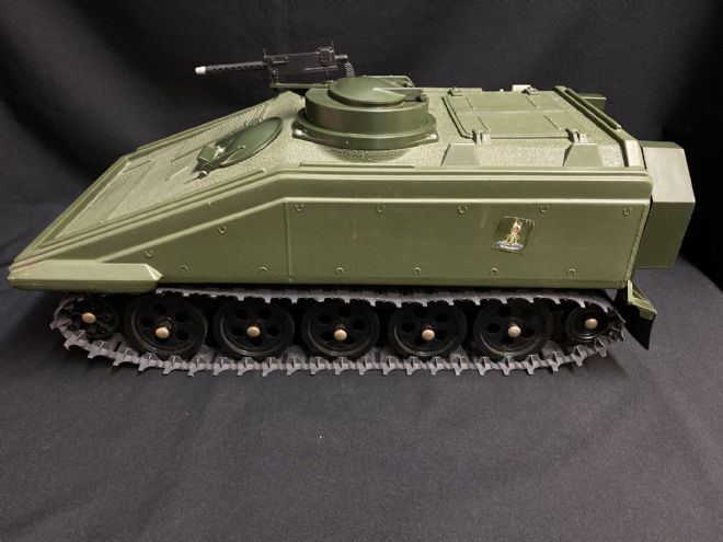 VINTAGE ACTION MAN - SPARTAN PERSONNEL CARRIER NOT BOXED (ref3)